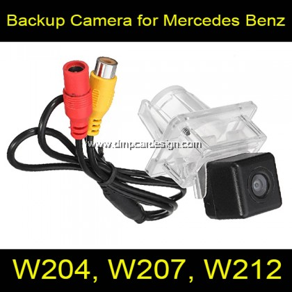 Rear View Backup Reverse Camera for Mercedes Benz C E Class W204 W205 W212 W213 W207